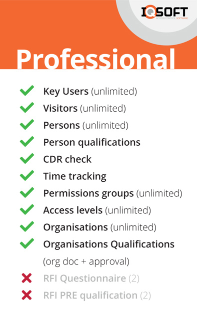 IQ-Soft Professional Pakket