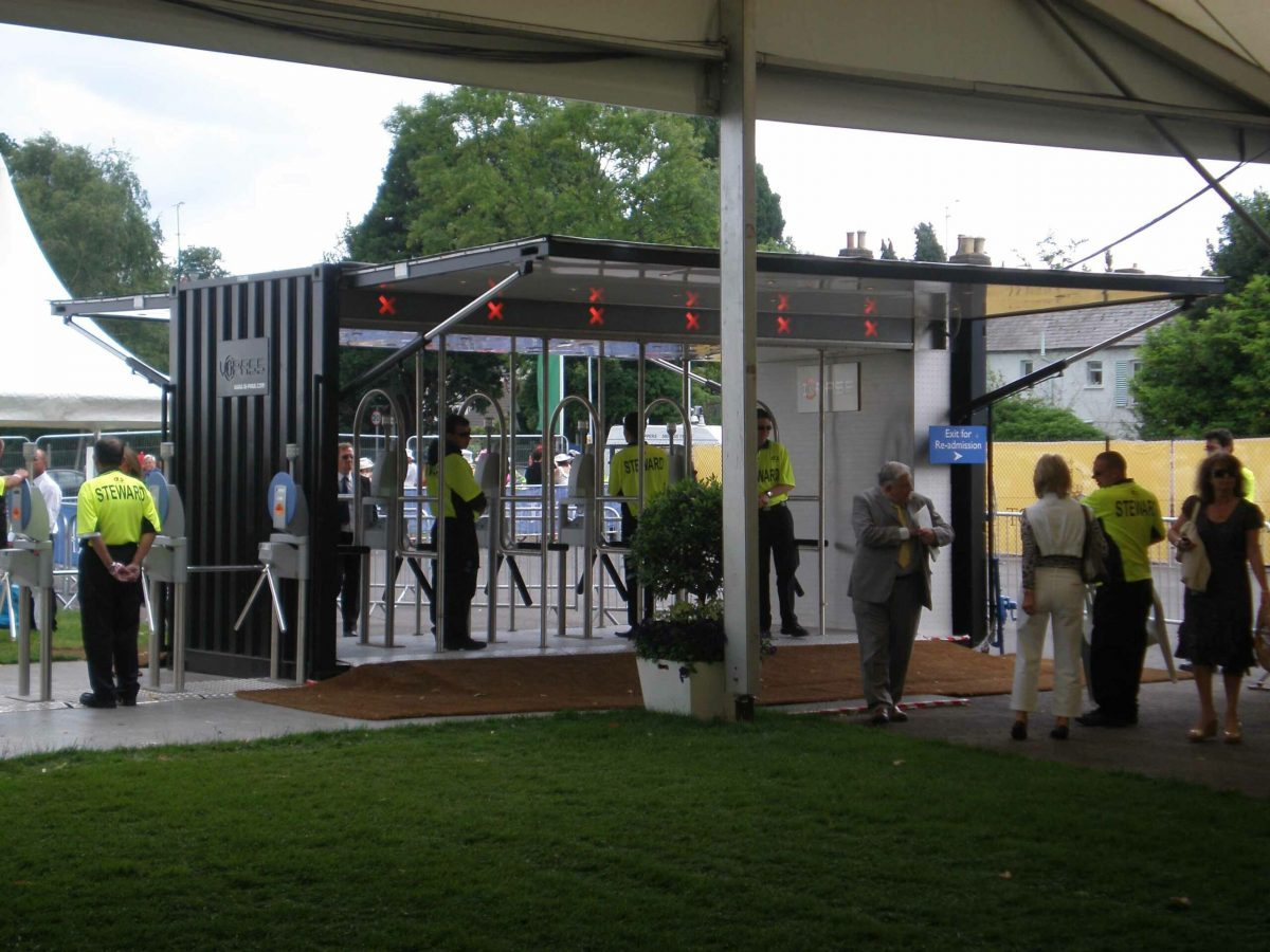 Crowd Gate iq pass