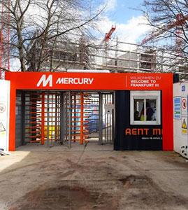 Mercury Frankfurt; een gelukkige klant!
